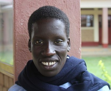 I'm Ugandan and I live with my mother and two sisters.